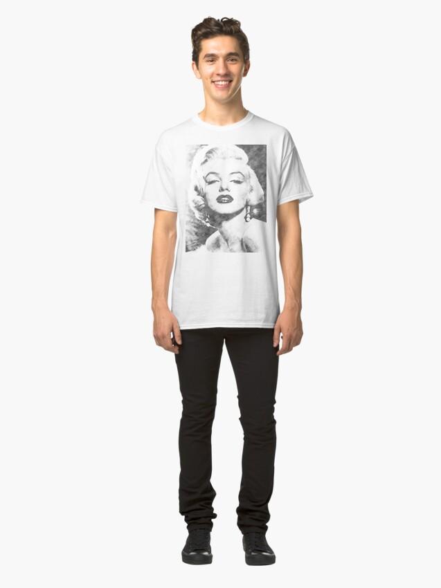 Alternative Ansicht von Glamour-Schuss Classic T-Shirt