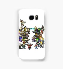 Epic 8 bit Battle! Samsung Galaxy Case/Skin