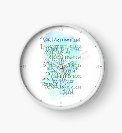 Vår Far i himmelen Clock