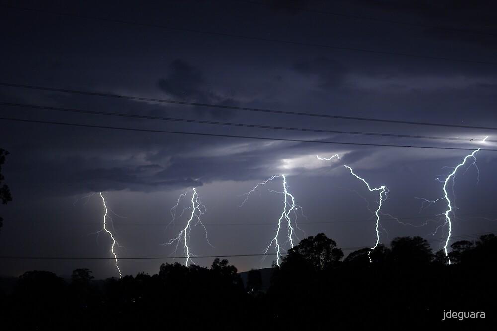 Lightning bolts by jdeguara