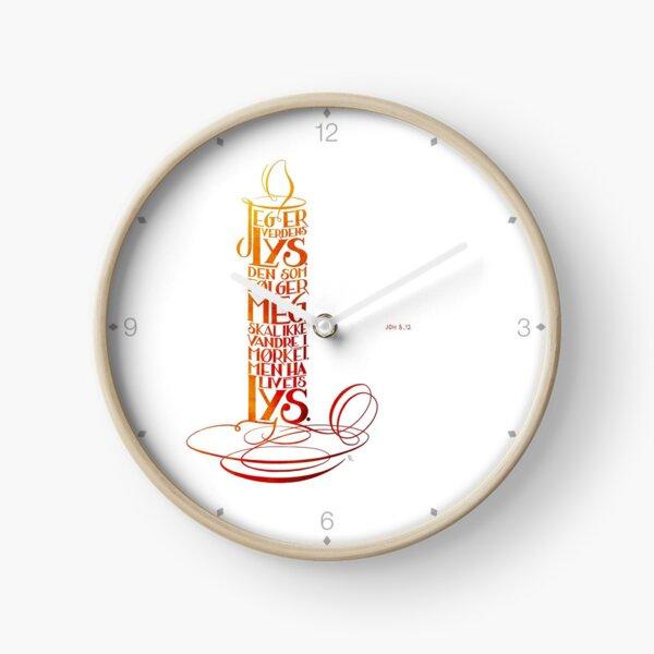 Jeg er verdens lys Clock