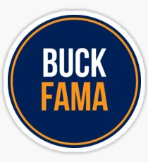 Buck Fama (Auburn Style) Sticker