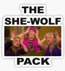 The She Wolf Pack - fuller house Sticker