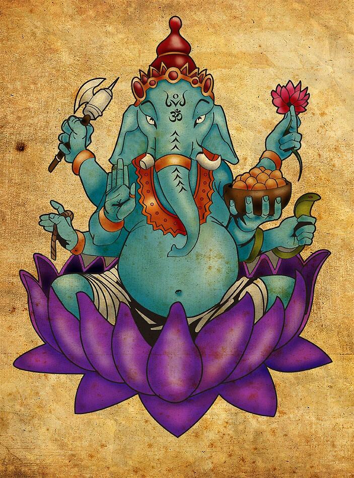 Ganesh by AdamSchneider