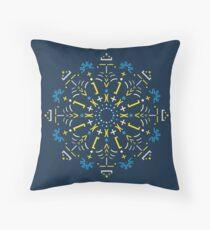 Python Mandala - Stained glass Floor Pillow