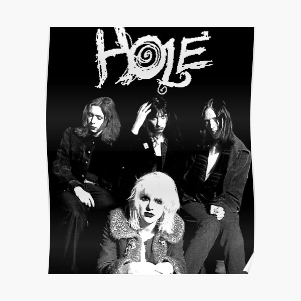hole - courtney love - with text Poster