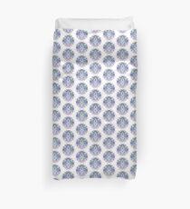 Blue Ornate Mandala Duvet Cover