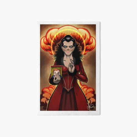 Our Lady of Perpetual Destruction Art Board Print