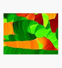 Caterpillar - abstract Photographic Print