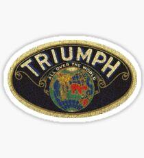 Vintage Triumph England Sticker
