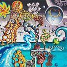 Salvia Dreams (version 2) by jeremysart