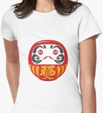 Daruma Women's Fitted T-Shirt