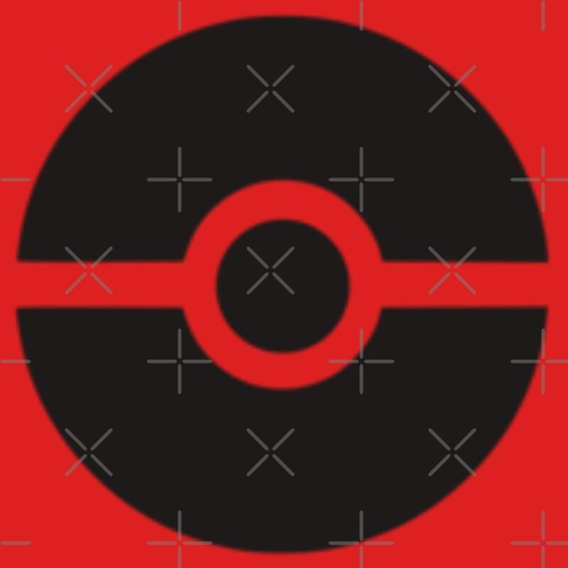 9697393 Subtle Pokeball Pokemon Logo Black No Words P Kids Clothes