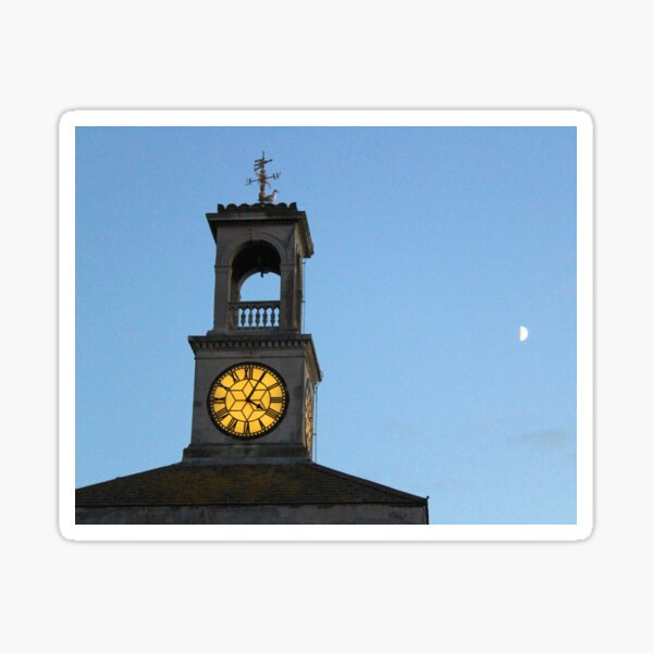 Twilight time in Ramsgate Sticker