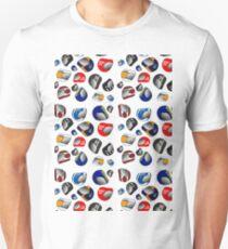 70's Racing helmets. Slim Fit T-Shirt
