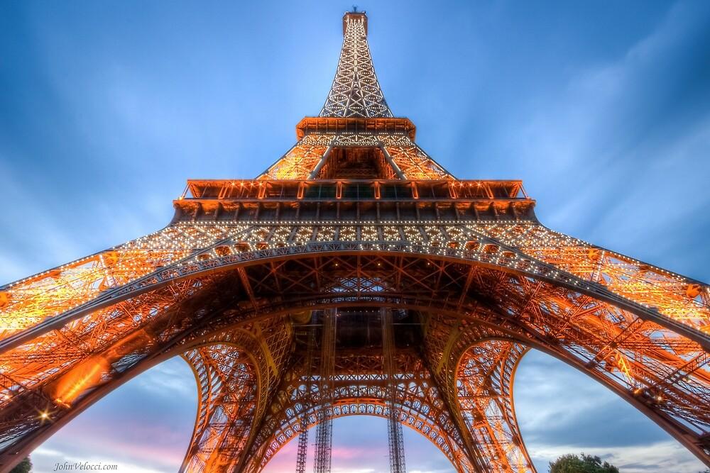Eiffel Tower 5 by John Velocci