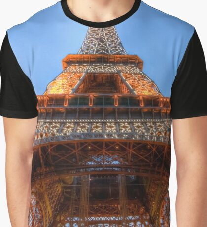 Eiffel Tower 5 Graphic T-Shirt