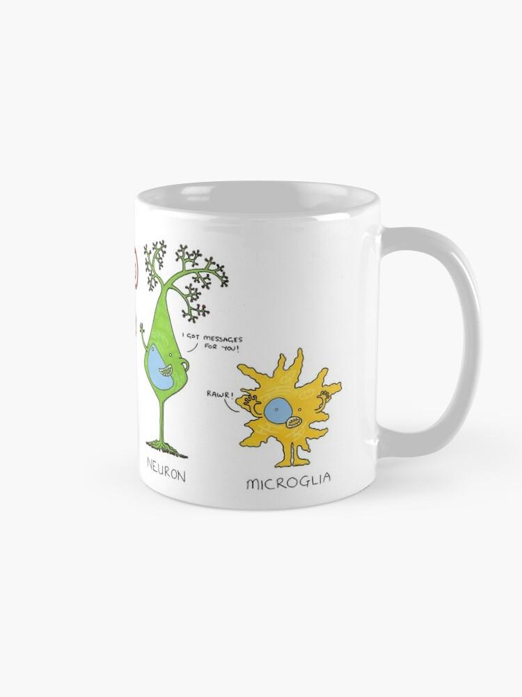 Alternate view of Meet your brain cells! - WIDE Mug