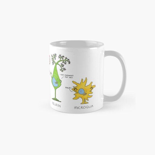 Meet your brain cells! - WIDE Classic Mug