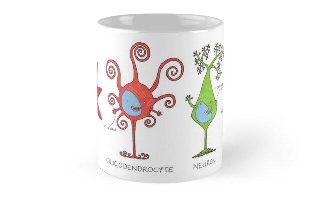 Meet your brain cells! - WIDE by Cartoon Neuron