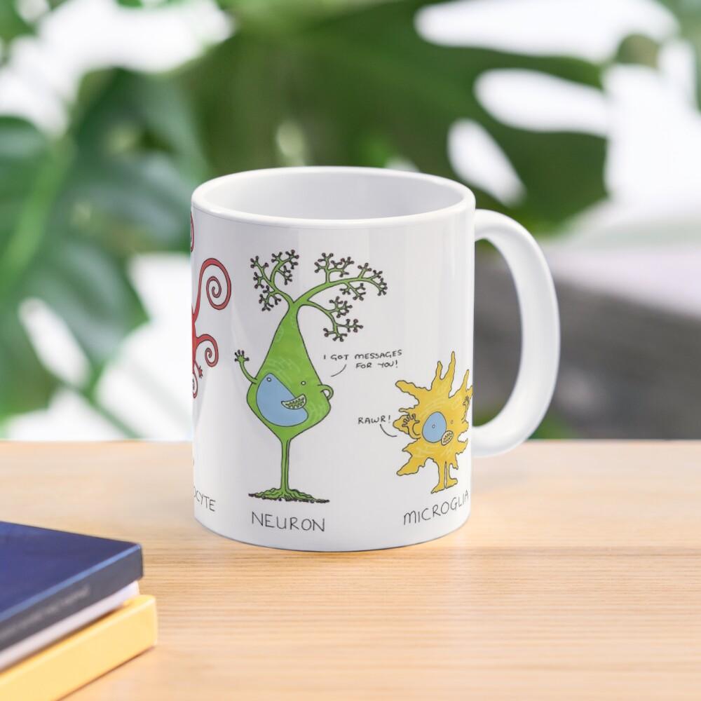 Meet your brain cells! - WIDE Mug