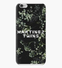 Martinez Twins - B&W Floral Phone Case iPhone Case