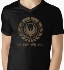 So Say We All Men's V-Neck T-Shirt