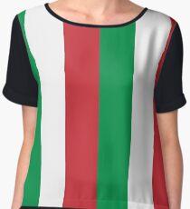 Italy Flag | Italian Flag Chiffon Top