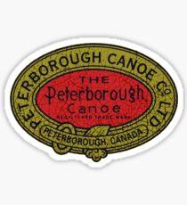 Peterborough Canoes Canada Sticker