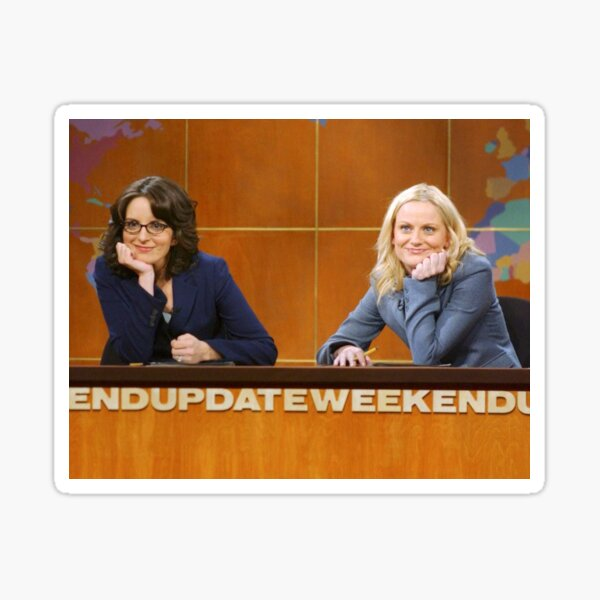 Weekend Update with Tina and Amy Sticker
