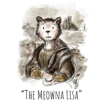 Renaissance Meowna Lisa by brodyquixote