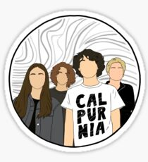 Calpurnia Band  Sticker