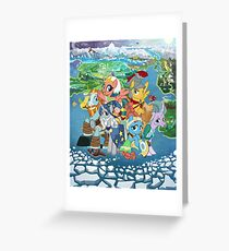 pillars of equestria Greeting Card