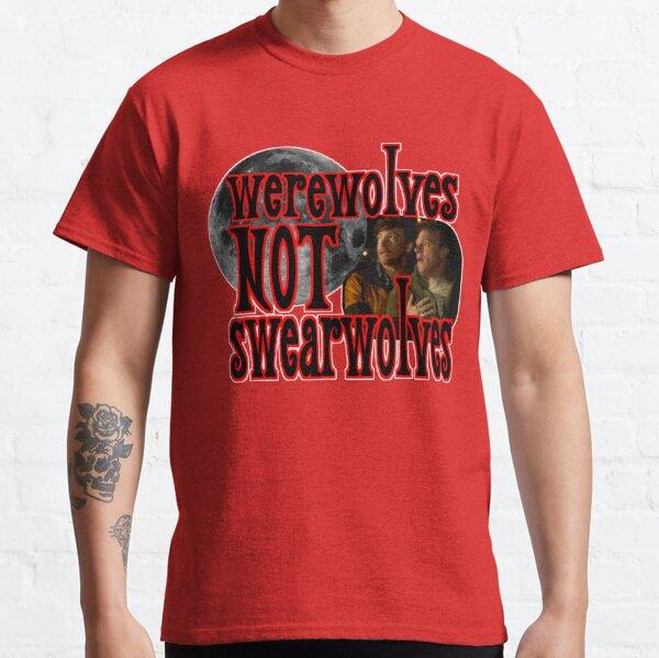 Werewolves Swearwolves Classic T-Shirt