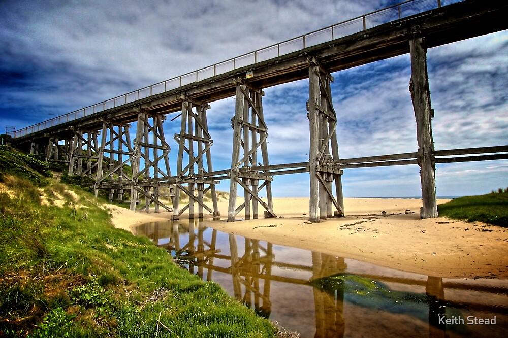 Old railway bridge by Keith Stead