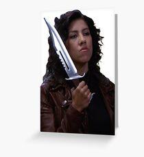 Rosa Diaz Greeting Card