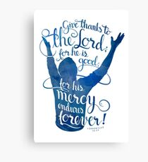 Give Thanks to the Lord Canvas Print