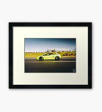 Twin Turbo Lamborghini Gallardo Framed Print
