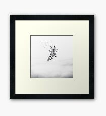 Sky is not the limit Framed Print
