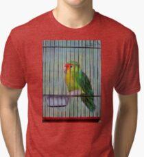 Bird in a Cage Tri-blend T-Shirt