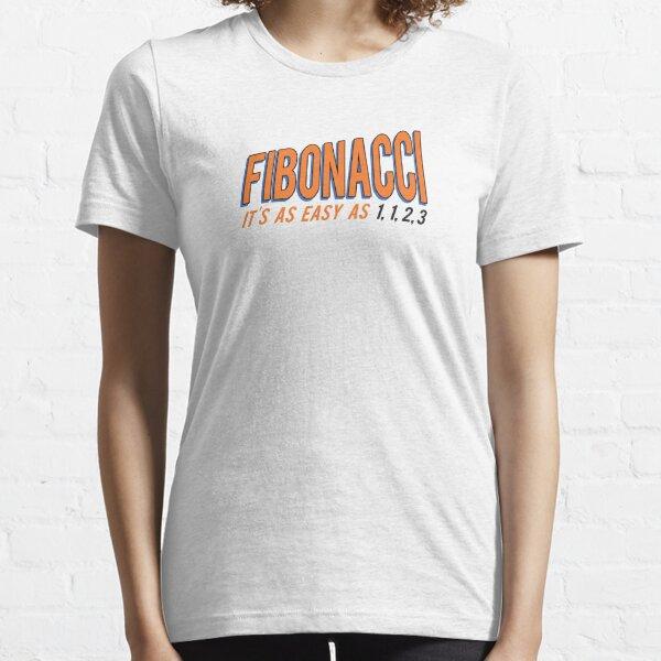 Fibonacci It's as Easy as 1, 1, 2, 3 Essential T-Shirt