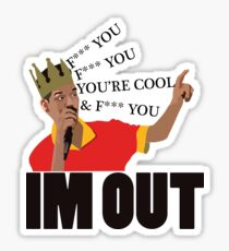 Half Baked - Scarface Quitting His Job In Style Sticker