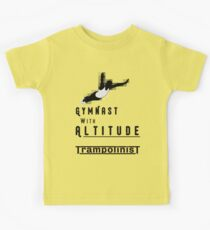 Gymnast With Altitude - Mens Trampolining Kids Clothes