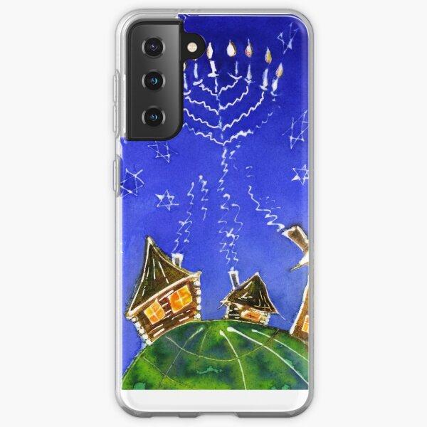 Hanukkah Batik Samsung Galaxy Soft Case