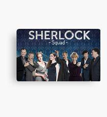 Sherlock Squad - Sherlock BBC Canvas Print