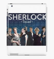 Sherlock Squad - Sherlock BBC iPad Case/Skin