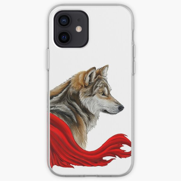 Red the wolf iPhone Soft Case