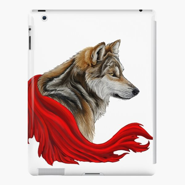 Red the wolf iPad Snap Case