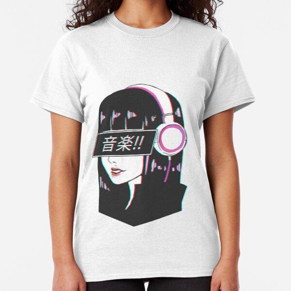 Music! - Sad Japanese Aesthetic Classic T-Shirt
