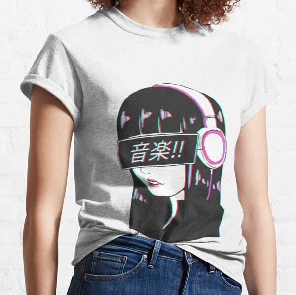 Music! - Sad Japanese Aesthetic Classic T-Shirt